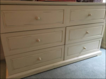 Off White Bedroom Furniture 4 Pieces in Bolling AFB, DC