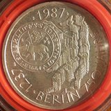 "1987J 10 DM Silver Coin ""750 Jahre Berlin"" in Ramstein, Germany"