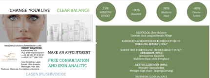 Free Consultation and Skin Analytic in Ramstein, Germany