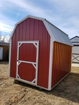 New 8'x12' Lofted Barn in Fort Leonard Wood, Missouri