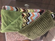 Chevron Throw & Pillow in Kingwood, Texas