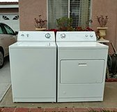 Whirlpool washer and gas dryer set in Camp Pendleton, California