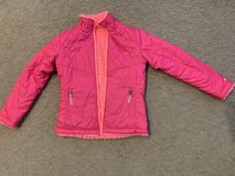 Girls C9 Pink Reversible Jacket...size m (7-8) in Naperville, Illinois