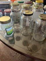 Empty Glass Jars washed clean good for candle making - 20 Bottles in St. Charles, Illinois