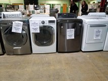 washer dryer for sale Lg and frigidaire scratch dent in Joliet, Illinois