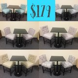 New 3pc Pub Style Sets in Vacaville, California