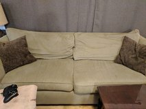 Tan Couch, Good Condition in Columbus, Georgia
