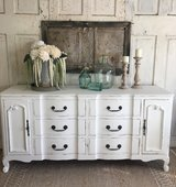 Vintage Dresser-White in Houston, Texas