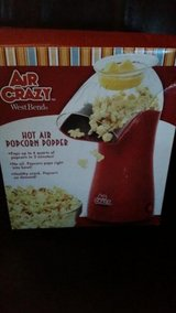 New / Red / Air Crazy Popcorn Popper in Fort Campbell, Kentucky