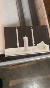 Wedding candle in Joliet, Illinois