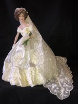 "Jackie Kennedy Franklin Mint 16"" Porcelain Wedding Doll in Chicago, Illinois"