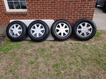 Set Of Cadillac Rims And Tires! in Byron, Georgia