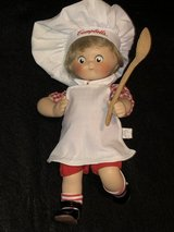 1995 Campbell Soup Dancing Chef Porcelain Doll in Chicago, Illinois