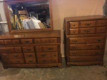 COMPLETE CHERRY MAPPLE BEDROOM SET in Clarksville, Tennessee