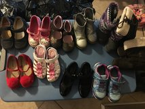 Size 10-12 girl shoes in Camp Pendleton, California