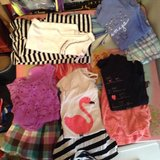 lot of size 7/8 girls outfits in Byron, Georgia