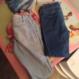 two pairs of size 7/8 girls jeans in Byron, Georgia