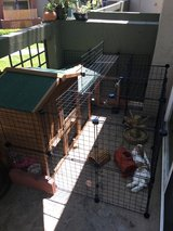 Rabbit hutch in Oceanside, California