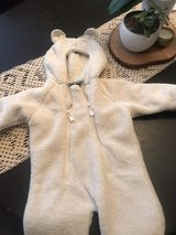 LL Bean cozy bear suit size 3-6 months *never been worn in Camp Pendleton, California