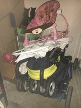 Strollers and baby carriages in Fort Hood, Texas