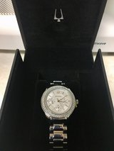 BRAND NEW silver and crystal BULOVA women's watch in Clarksville, Tennessee