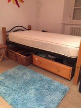 Twin Bed with Mattress (2) in Baumholder, GE