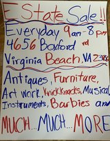 Estate Sale in Norfolk, Virginia