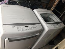 LG washer and dryer in Clarksville, Tennessee
