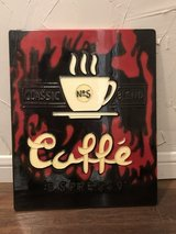 Coffee Themed Wall Plaque in Cleveland, Texas