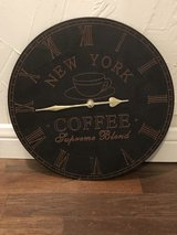 Coffee Themed Clocks in Cleveland, Texas