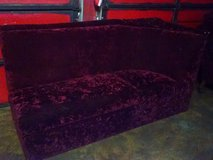 Maroon Couch in Houston, Texas