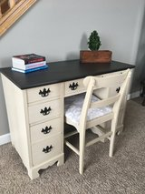 Refinished Desk and Chair in Oswego, Illinois