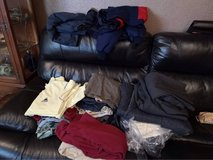 men's large bundle of clothes mostly L some XL and XXL in Lakenheath, UK