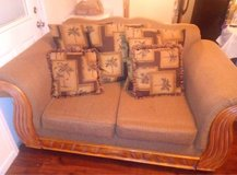 Couch and Loveseat Set with Pillows in Warner Robins, Georgia