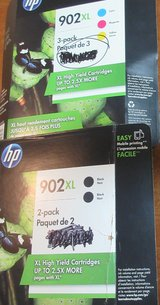 HP Print Cartridges 902 XL in Conroe, Texas