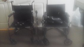 Two Wheelchairs  New Drive brand & Cane & Collapsible Wheelchair in Aurora, Illinois
