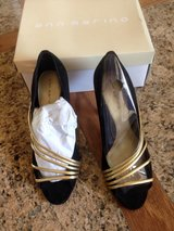 Black Shoes, NIB, Ann Marino, Size 7 in Pearland, Texas