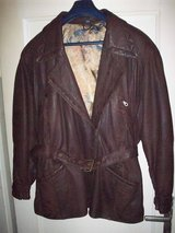 Real Leather Jacket Size XL/44 in Ramstein, Germany