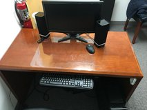 SOLID WOOD DESK in Oswego, Illinois
