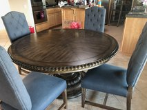 6ft round dining table in Temecula, California