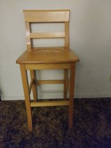 Solid Wood BAR STOOL Chair in Vacaville, California