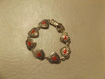 red heart bracelet- new in Bellaire, Texas