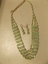 Green Necklace set-new in Bellaire, Texas