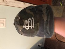 Cardinals hat with while glitter wording new in Fort Leonard Wood, Missouri