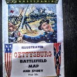 gettysburgh map 1959 collectable in Aurora, Illinois