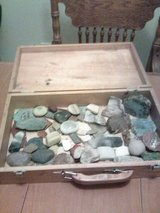 Box of Geodes and Rocks in 29 Palms, California