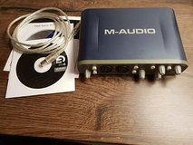 M-Audio Fast Track Pro USB Audio and MIDI Interface in Stuttgart, GE