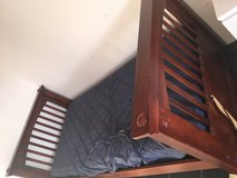 Twin bed frame solid wood in Stuttgart, GE