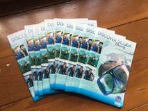 Discover Scuba Diving pamphlet x10 (Korean) in Okinawa, Japan