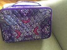 Vera Bradley NEW Lilac Tapestry Makeup/Toiletry Bag in Fort Belvoir, Virginia